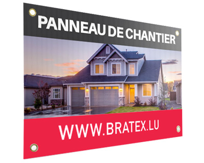 Panneau de chantier Bratex