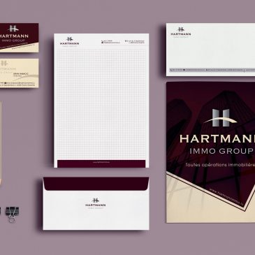 Hartmann Immo Group papeterie